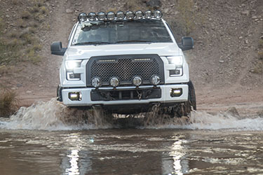 Stage 3's 2015 F150 EcoBoost XLT Project Truck in Action