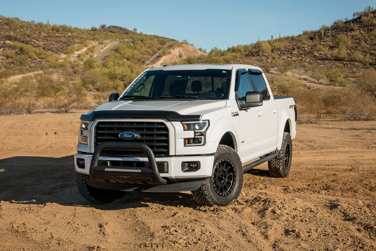 Stage 3's 2015 F150 3.5L EcoBoost XLT Project Truck