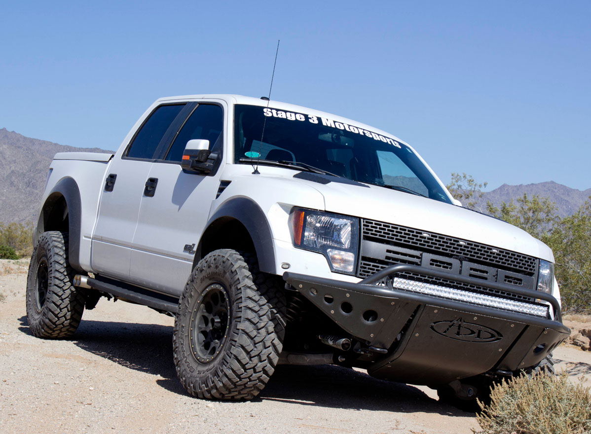 Inch E Series On A Raptor Front Bumper