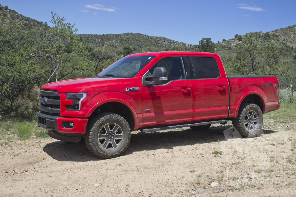 Stage 3's 2015 F150 4WD with ICON Stage 2 Suspension System