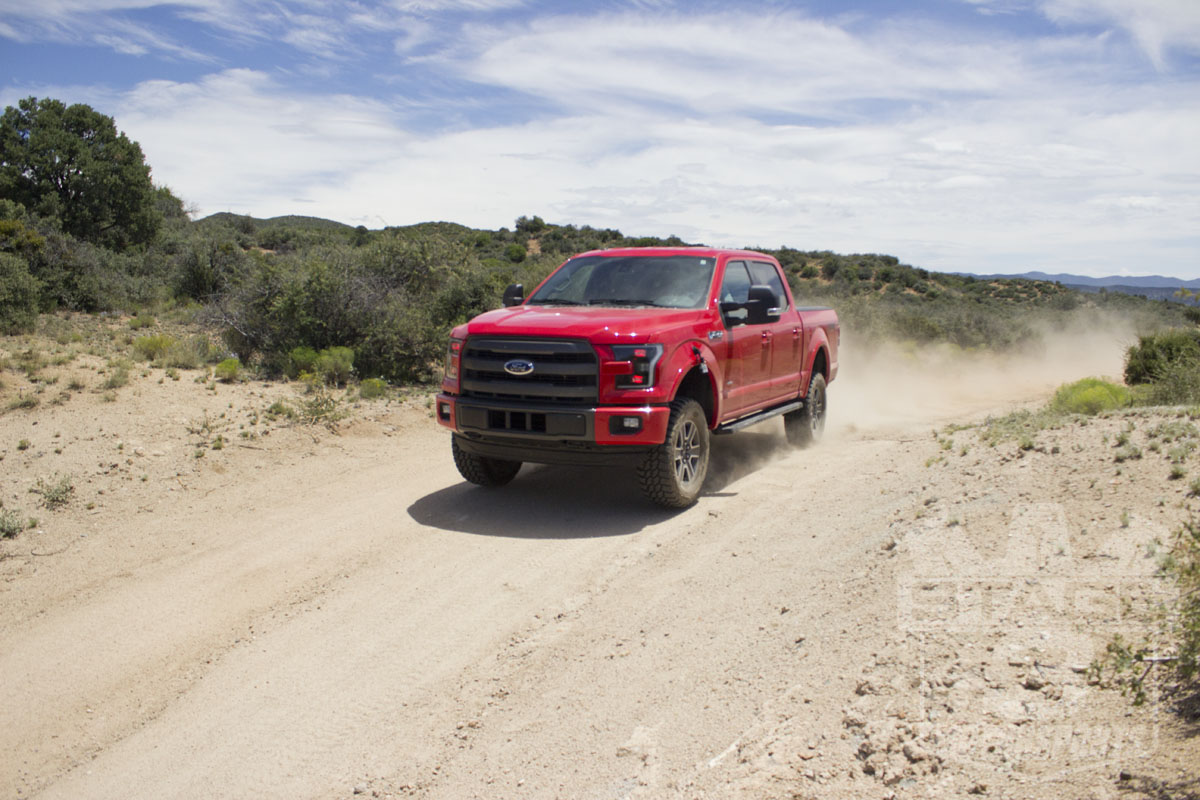 2015 F150 4WD Off-Roading