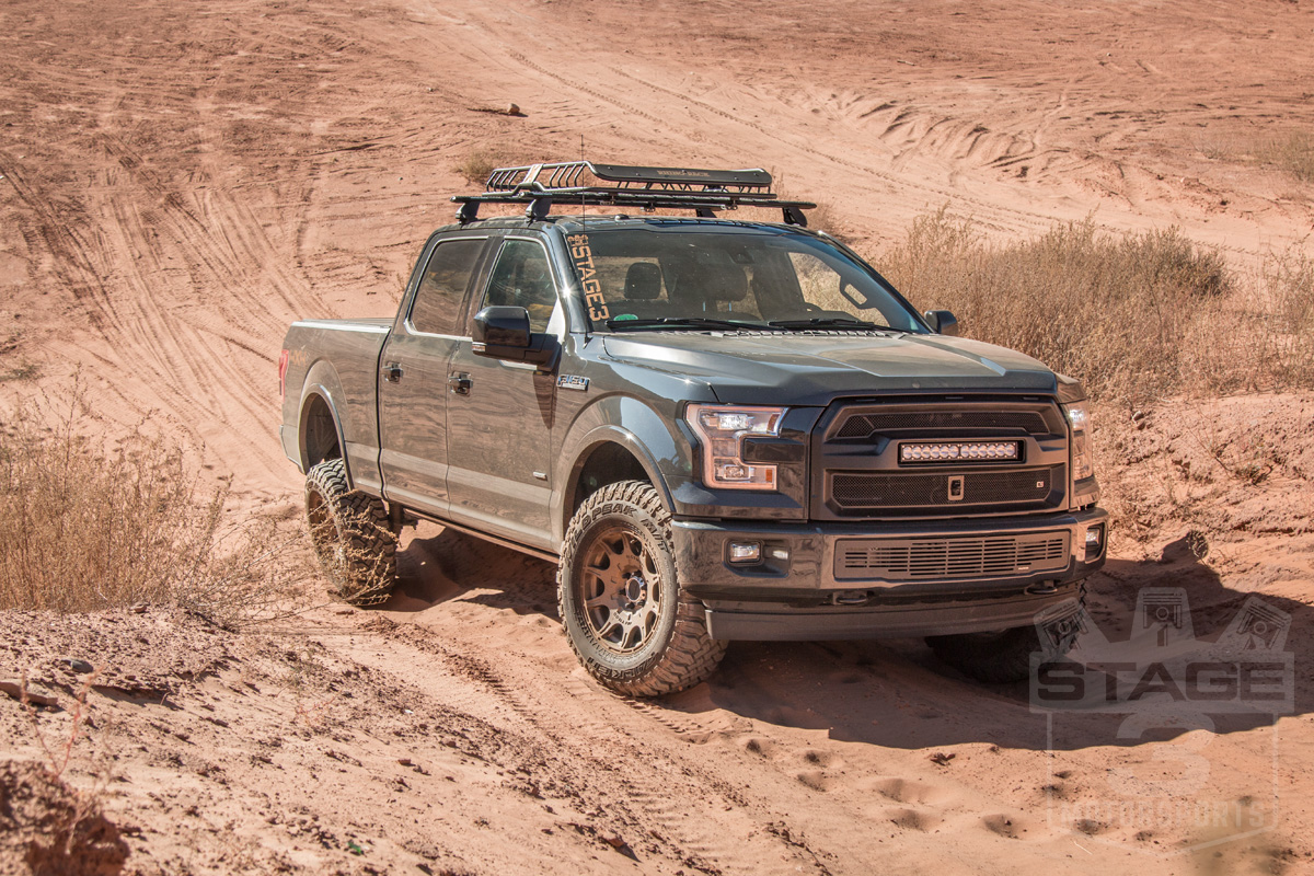 stage 3 39 s 2017 f150 3 5l ecoboost project truck in action. Black Bedroom Furniture Sets. Home Design Ideas