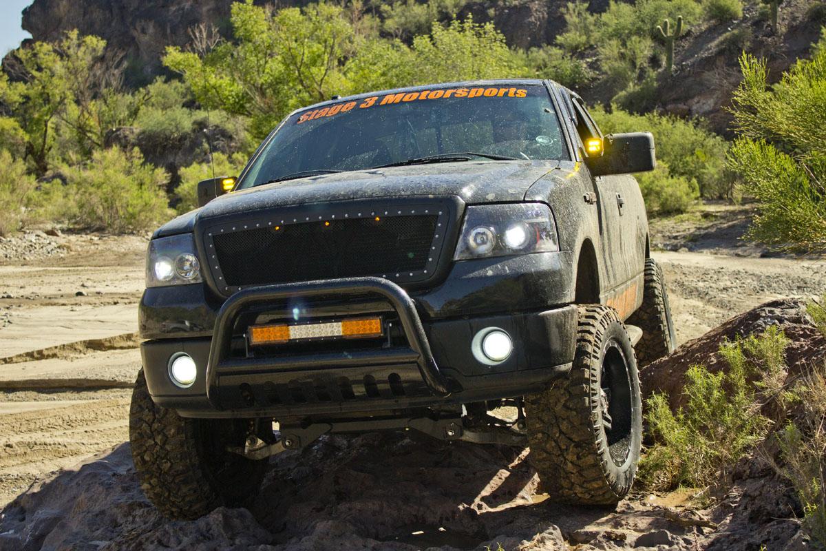 2004 2008 F150 Custom Auto Works Raptor Style Led Amber