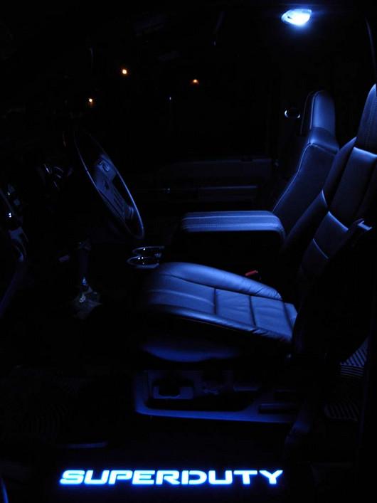 1999 2015 F250 Amp F350 Recon Billet Illuminated Door Sills