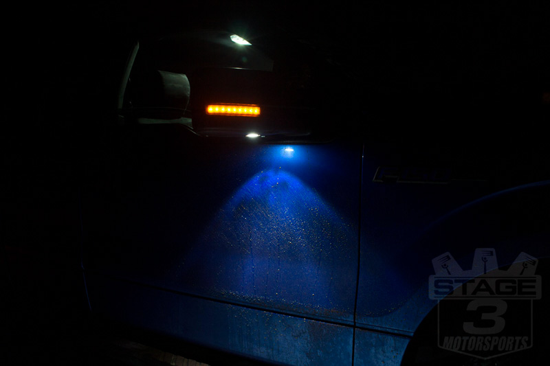 2009 F150 Puddle Lights