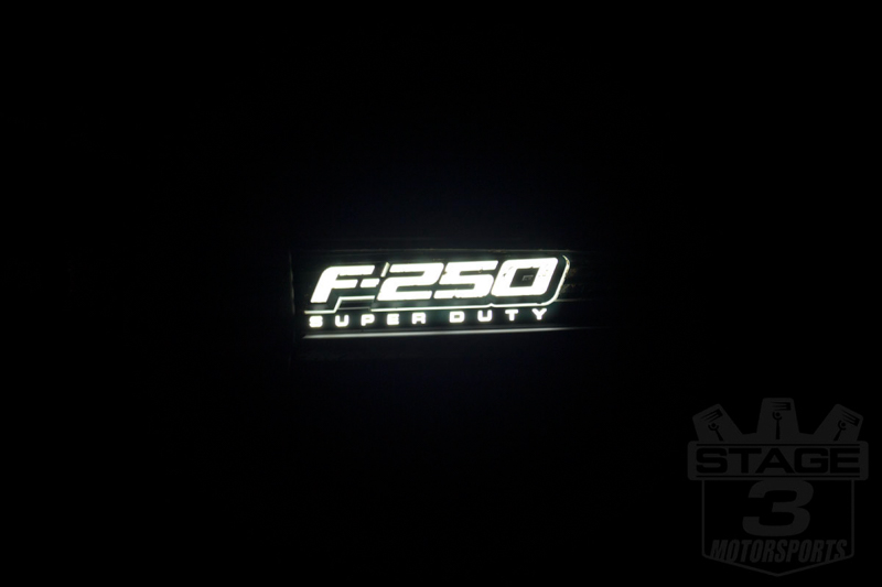 2011-2016 F250 & F350 Illuminated Emblems