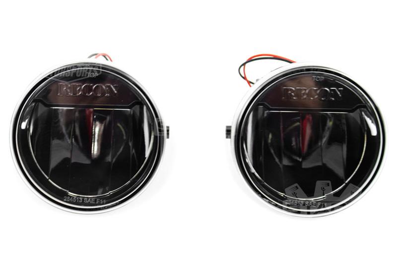 Ford Ranger Smoke Fog Lights With Wiring Harness Free Download 2009 2014 F150 Recon Led Light Kit Black 264513bk