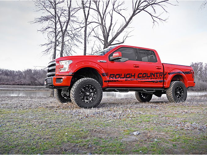 2015 2018 F150 4wd Rough Country 6 Suspension Lift Kit 557 22