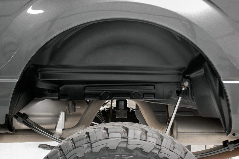 2015-2020 F150 Rough Country Rear Wheel Well Liners (Pair ...