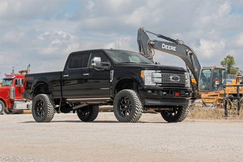 """2017-2020 F250 4WD Rough Country 6"""" 4-Link Suspension Lift ..."""