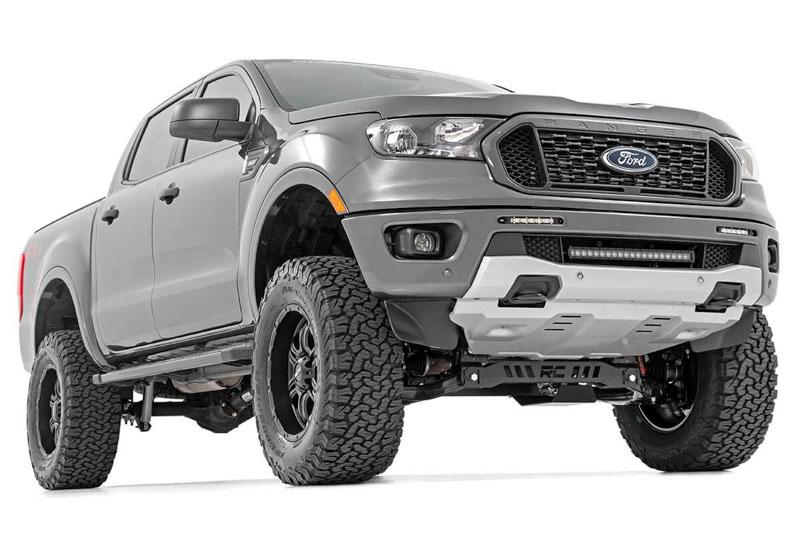 2019 2020 Ford Ranger Rough Country Chrome Series 20