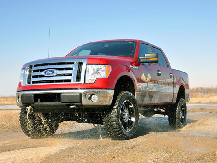 2011-2013 F150 4WD Rough Country 4 Inch Lift Kit 559S