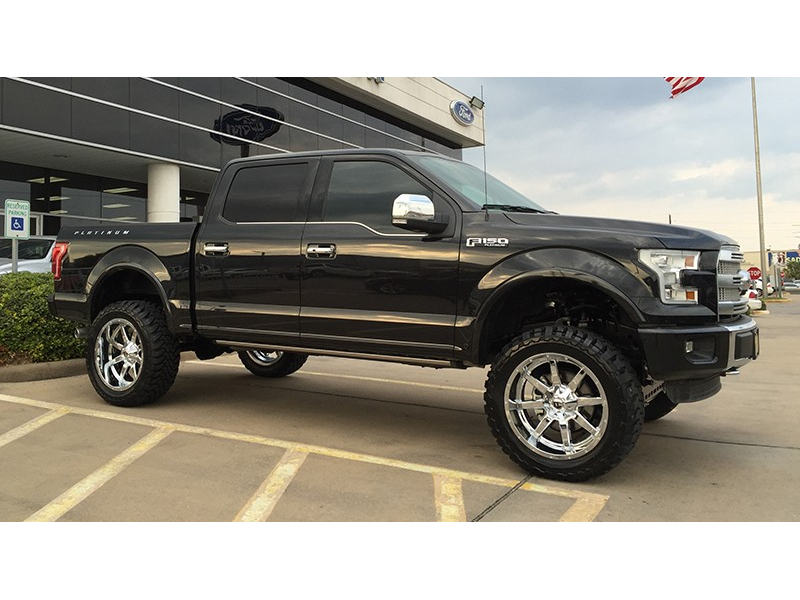 """2010 F150 Lift Kit >> 2015-2020 F150 4WD ReadyLift 7"""" Suspension Lift Kit with ..."""