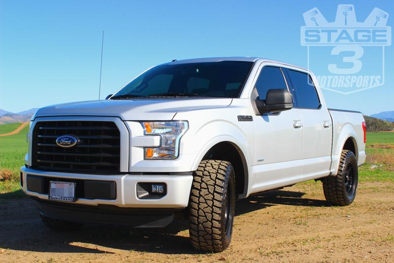 2015 2018 f150 readylift 2 25 front strut extension leveling kit 66