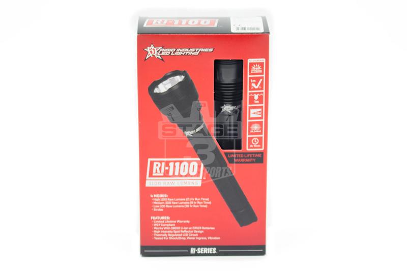 Rigid Industries Ri 1100 Lumen Series Led Flashlight 30150 Torch Circuit Tap To Expand