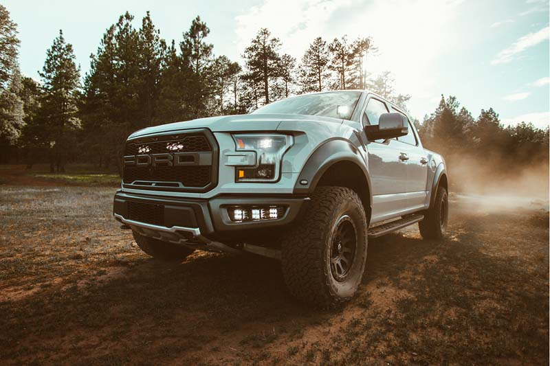 2017 2018 raptor rigid industries complete upper grille led light tap to expand aloadofball Gallery
