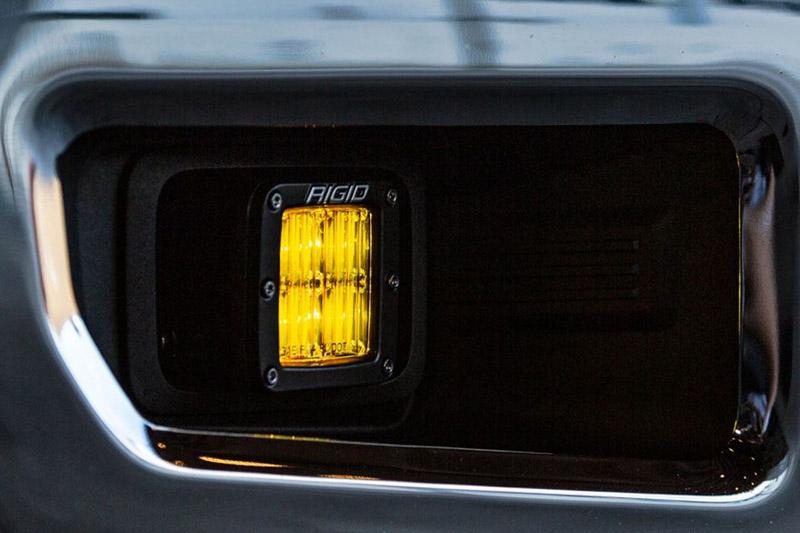 Rigid Industries Sae Dot Compliant Selective Yellow Fog