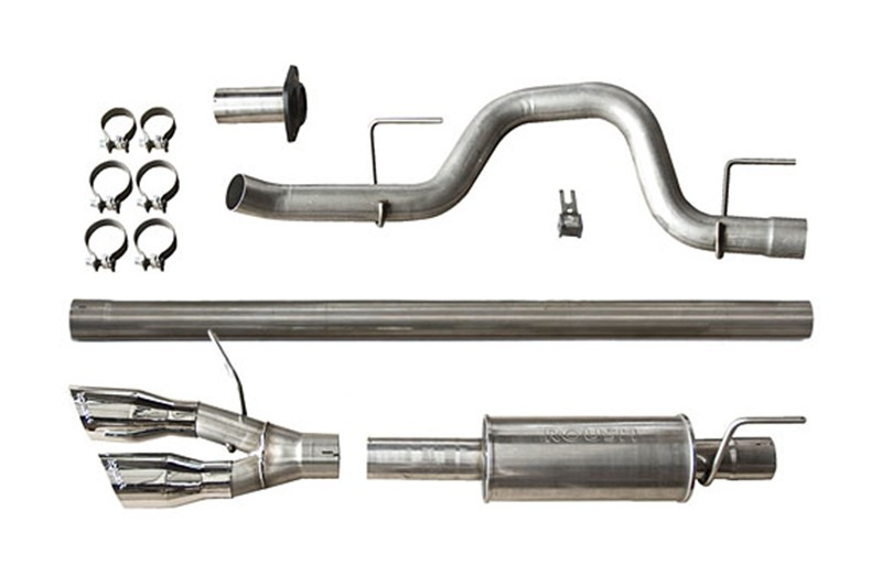 2011-2014 F150 Roush Side-Exit Cat-Back Exhaust Kit (Stainless)