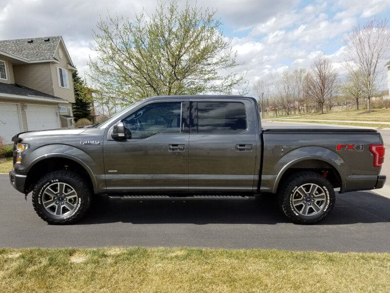 2014 2018 f150 4wd rancho quicklift loaded leveling kit driver