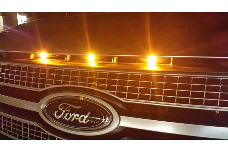 F 150 Shelby >> 2009-2012 F150 Custom Auto Works Raptor Style LED Amber Grille Light Kit 200912-RSGLK