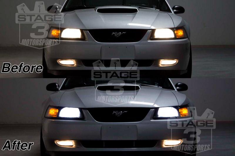 1994 2004 Mustang Recon 9007 Headlight Replacment Bulbs