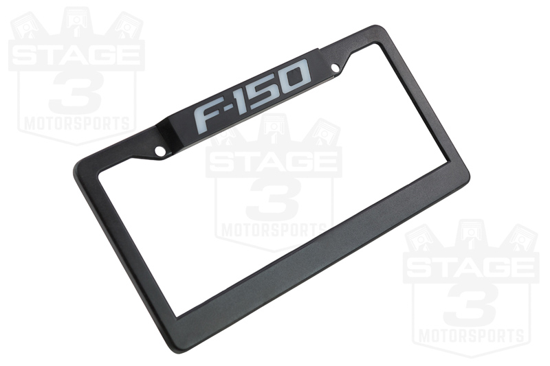 Recon F150 Billet LED Illuminated License Plate Frame 264311F150