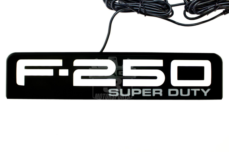 2008 2010 f250 super duty recon illuminated side emblems r264185bk rh stage3motorsports com