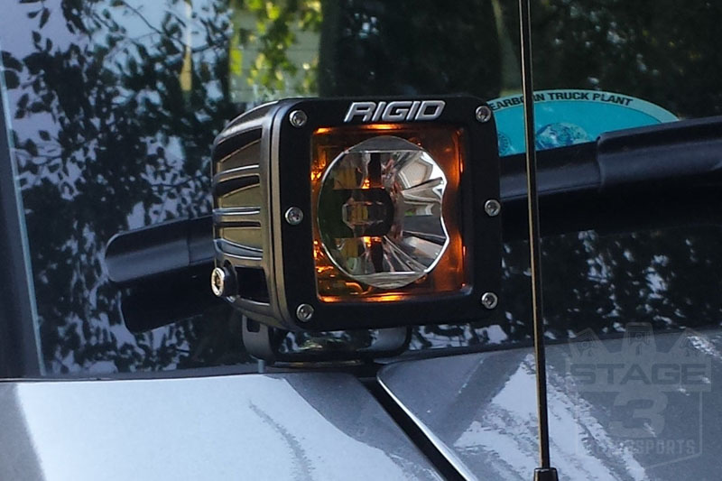 Rigid industries radiance series amber back light led pod pair 20204 hover to zoom aloadofball Choice Image