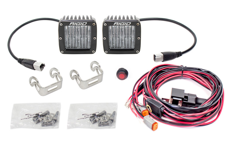 Rigid Industries D Series Dot Sae Flood Lights White
