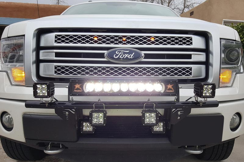 Rigid industries 20 radiance plus led light bar amber back light hover to zoom aloadofball Choice Image