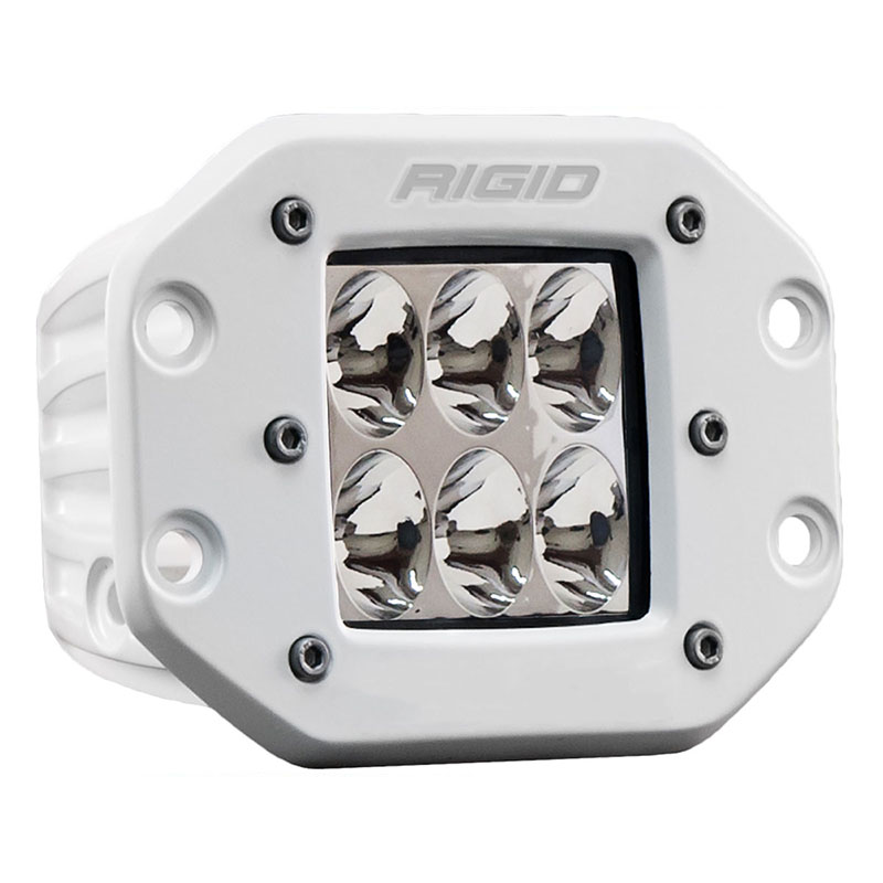 Rigid Industries Marine D2 Pro Led Light White Driving