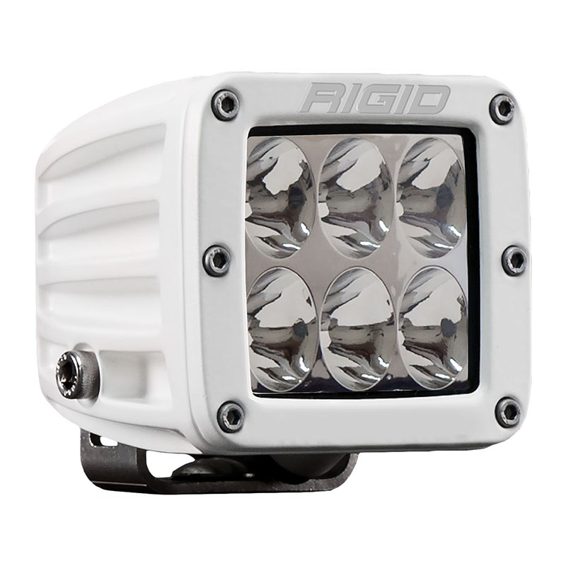 Rigid Marine Dually D2 Pro White Driving LED Light