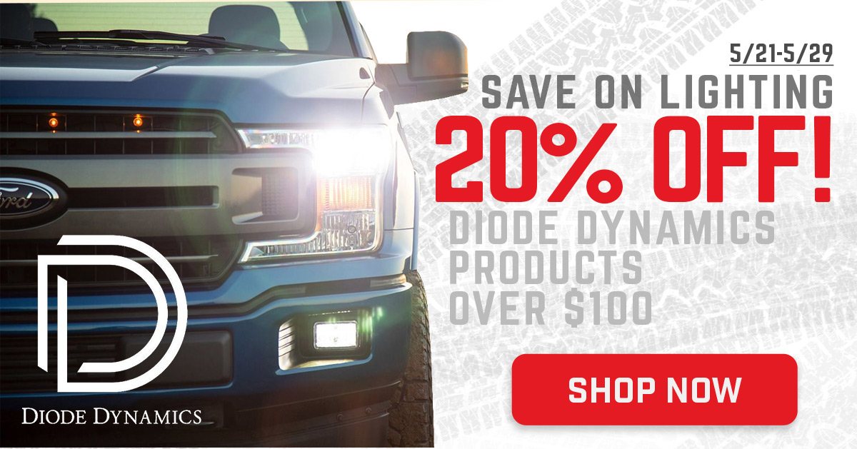 20% Off Diode Dynamics Lighting!