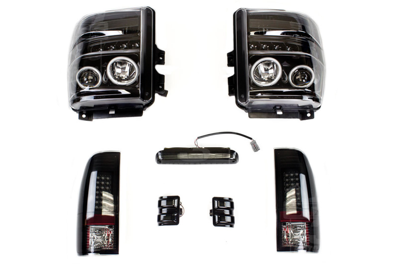 2008 2010 Super Duty S3m Recon Smoked Lighting Package Recon0810 Hid Conversion Kit Wiring Diagram 08 Altima Tap To Expand