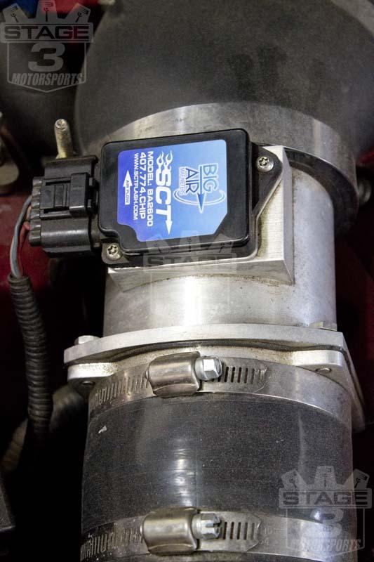 Ford Mustang Roush >> SCT BA-2600 Big Air 90MM MAF Meter / Sensor BA-2600