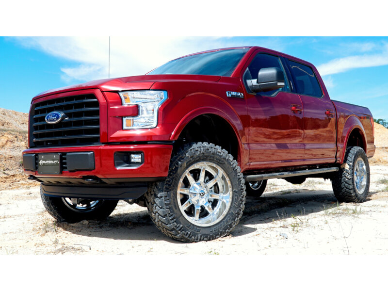 """Lifted 2015 F150 >> 2015-2019 F150 4WD SuperLift 4.5"""" Suspension Lift Kit with ..."""