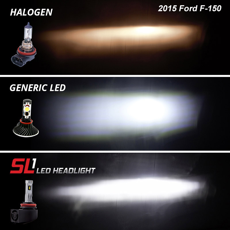 2015 2020 F150 Diode Dynamics Sl1 Low Beam Led Conversion
