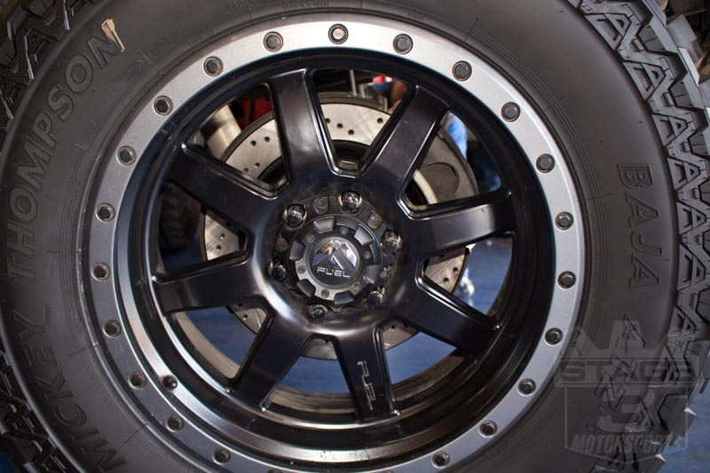 Cross Drilled Rotors >> 2012 2017 F150 Raptor Stoptech Cross Drilled Slotted Rear Rotors
