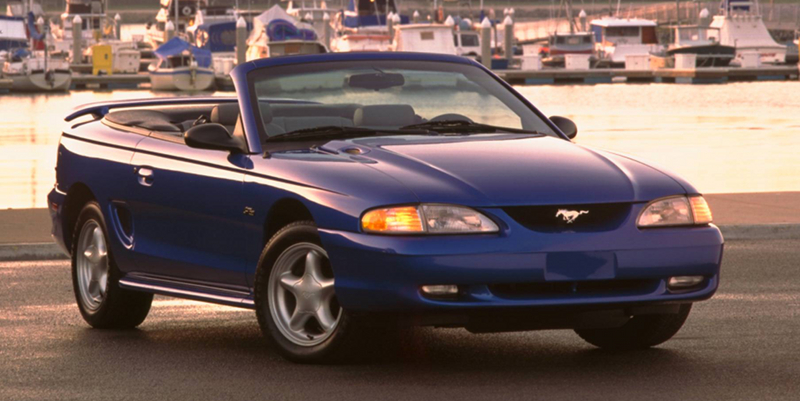 1998 Mustang Information & Specifications