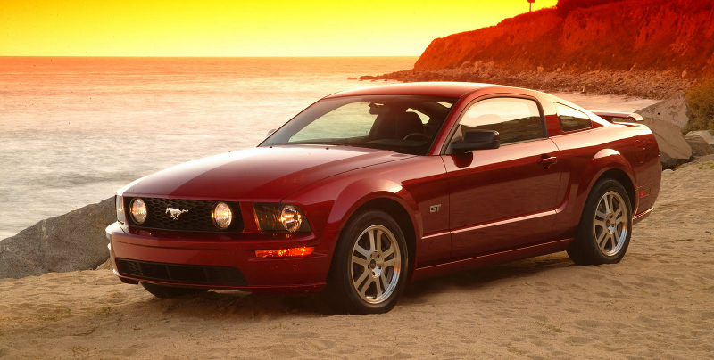 2005 Mustang Information & Specifications
