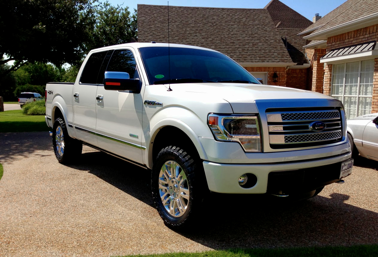 2013 F150 with Leveling Kit & 33&quot Tires