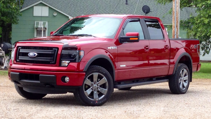 2014 F150 EcoBoost FX4 Ruby Red SuperCrew Cab