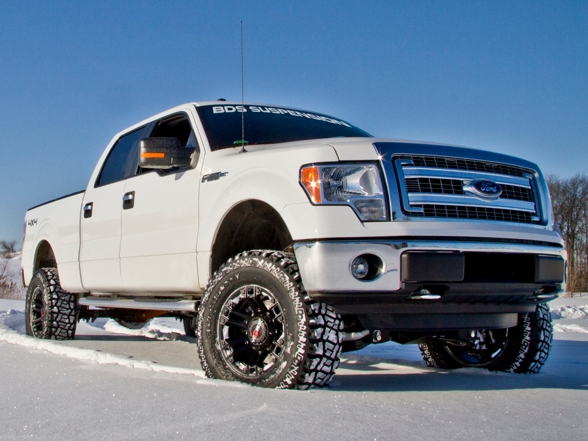 2014 f150 with a bds 6 inch lift kit