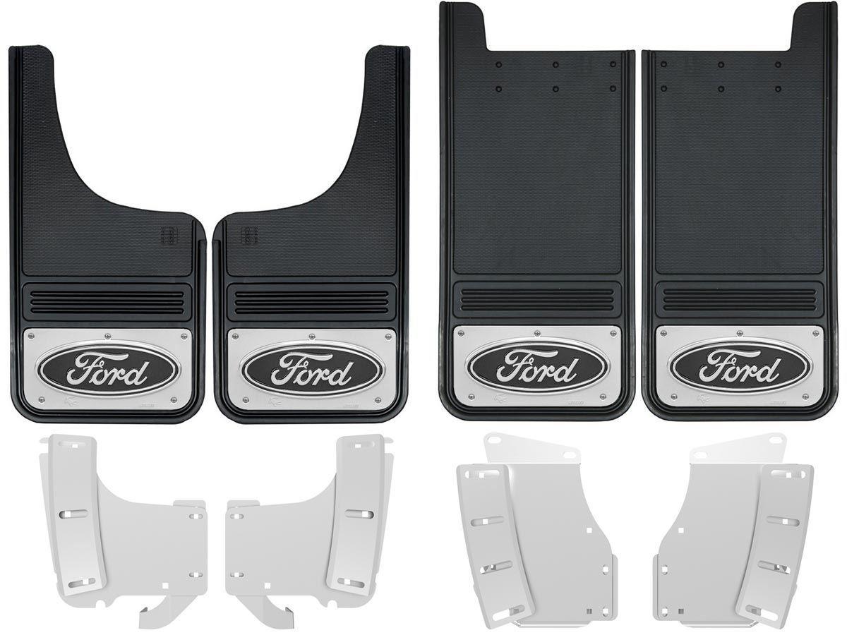 SR 11-18 Ford FOCUS ST SE S Mud Guard Flaps Set BLUE w// Logo /& Hardware Kit