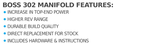 2011-2014 F150 5 0L Boss 302 Intake Manifold Kit with 5-Star Tuning