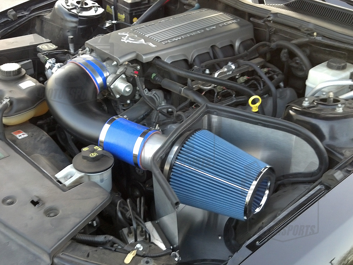 2005 2009 mustang gt 4 6l steeda proflow cold air intake. Black Bedroom Furniture Sets. Home Design Ideas
