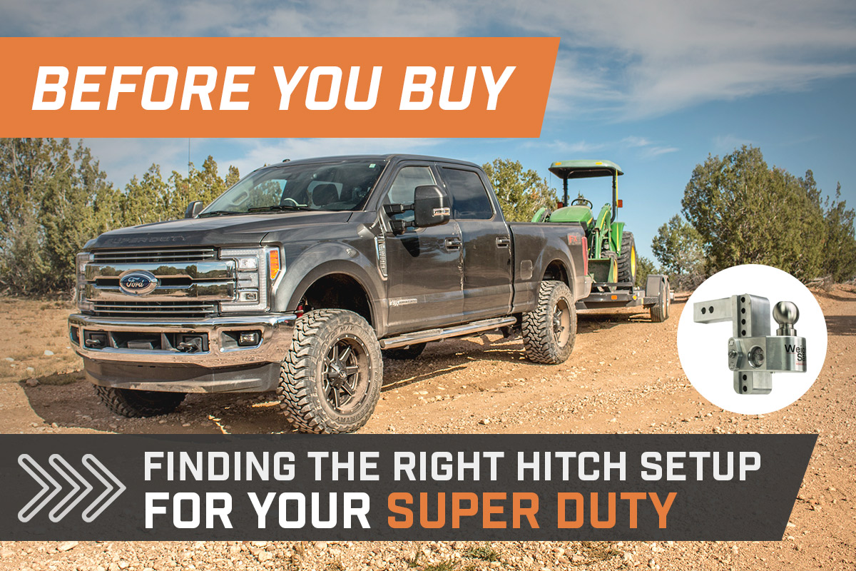 Before You Buy Super Duty Hitch Setup