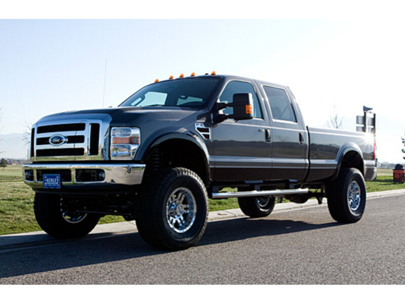 """2005-2007 F250 & F350 4WD Tuff Country Leveling Kit w/ SX6000 Shocks (6"""" front / 4"""" rear) TC-26974KH"""