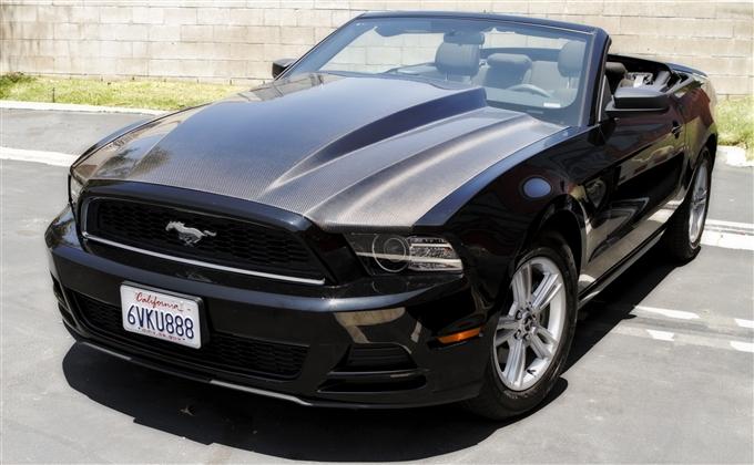 2010 2012 Mustang Trucarbon A49 3 Quot Cowl Hood 10025 49 3