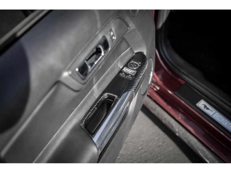 mustang carbon fiber fuse box cover